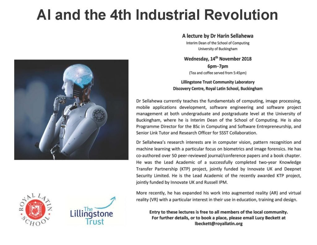 AI and the 4th industrial revolution - Poster (003)