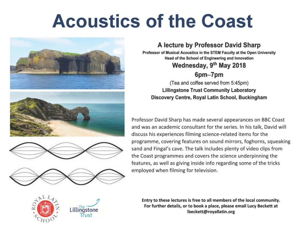 Acoustics of the Coast - Poster (3)