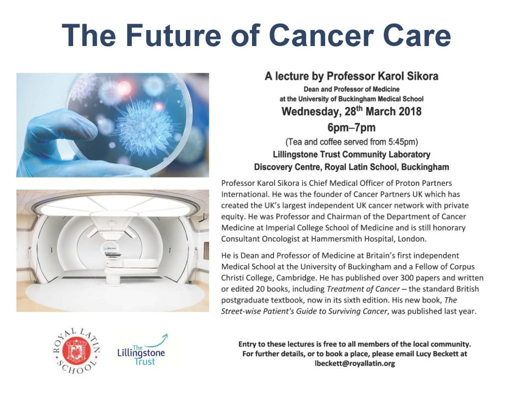 The Future of Cancer Care - Poster (3)