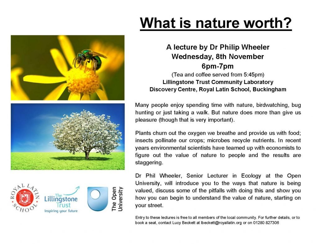 What is nature worth - Poster (3)